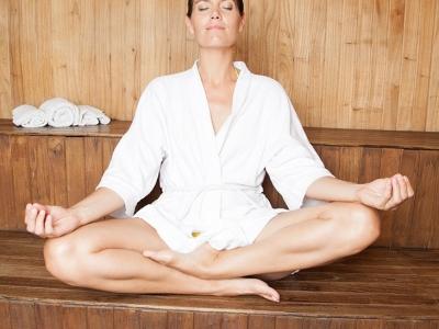 Meditacija i odmor u sauni